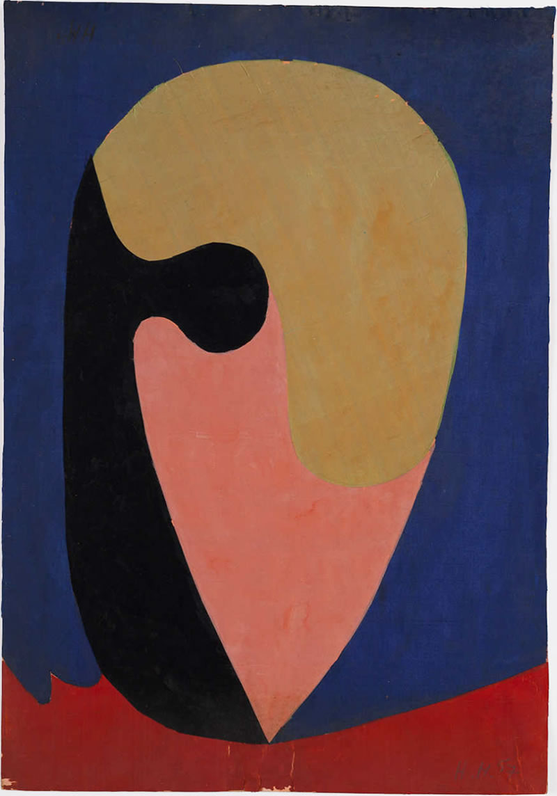 1957, silkcollage, 50x34,5cm