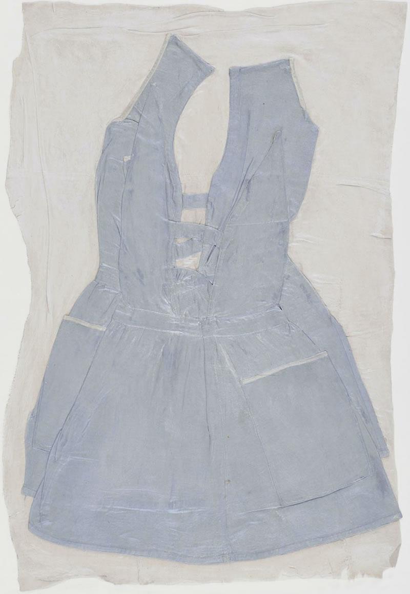 1978 Blaues Kleidchen Dimensions approx. 90 x 64 cm