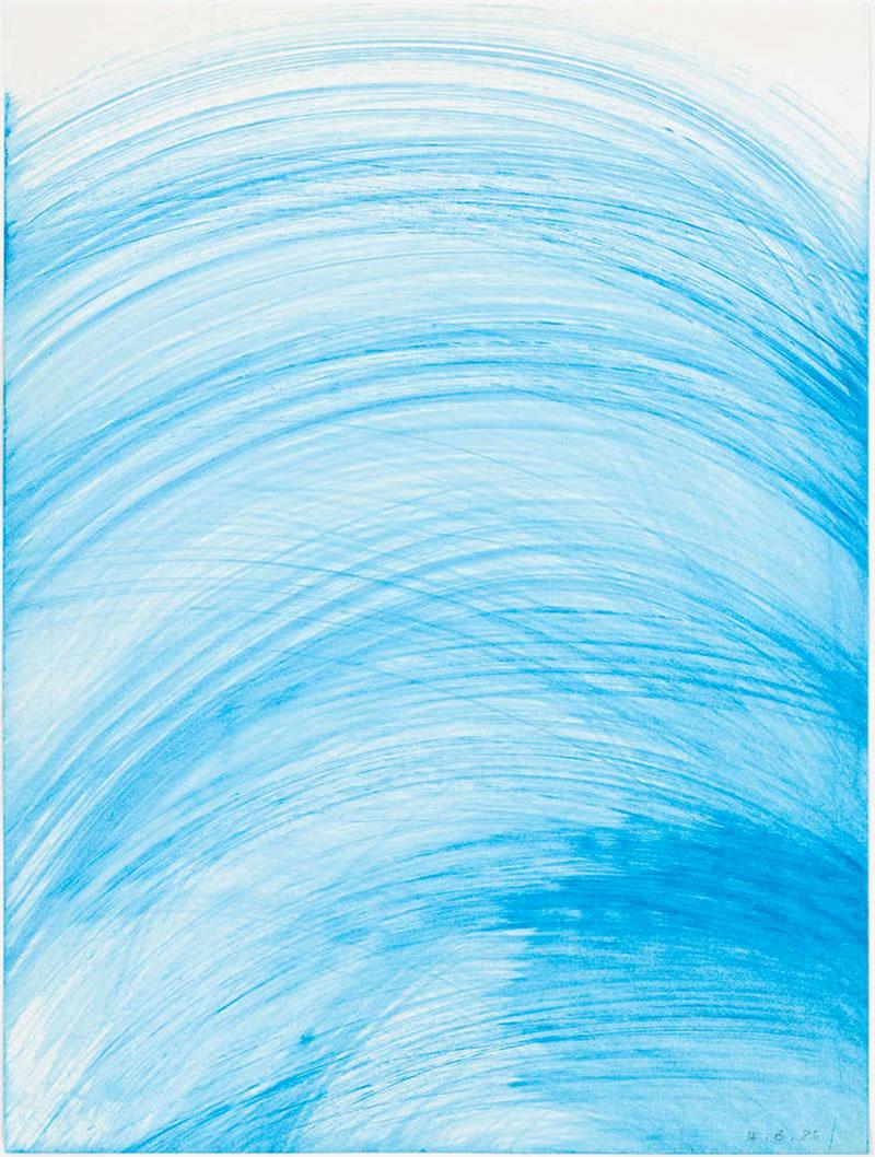 1985 Die Wässer 2, watercolor on paper 30 x 40 cm (2)